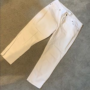 Michael Kors skinny capri jean